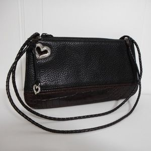 Brighton Vintage Small Two Tone Shoulder Handbag